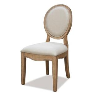 Riverside Furniture Sherborne Oval Back Side Chair