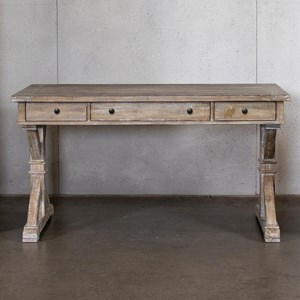 Writing Desk with Drop-Down Drawer