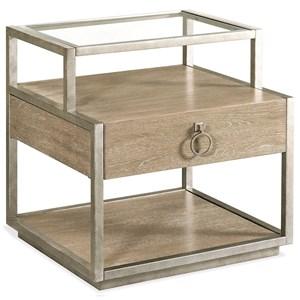 Riverside Furniture Sophie Rectangular Side Table
