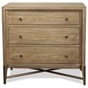 Riverside Furniture Sophie 3 Drawer Nightstand - Item Number: 50369