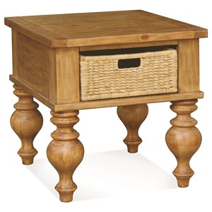 Riverside Furniture Summer Hill Side Table