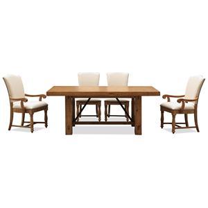 Riverside Furniture Summer Hill 5 Piece Table & Chair Set