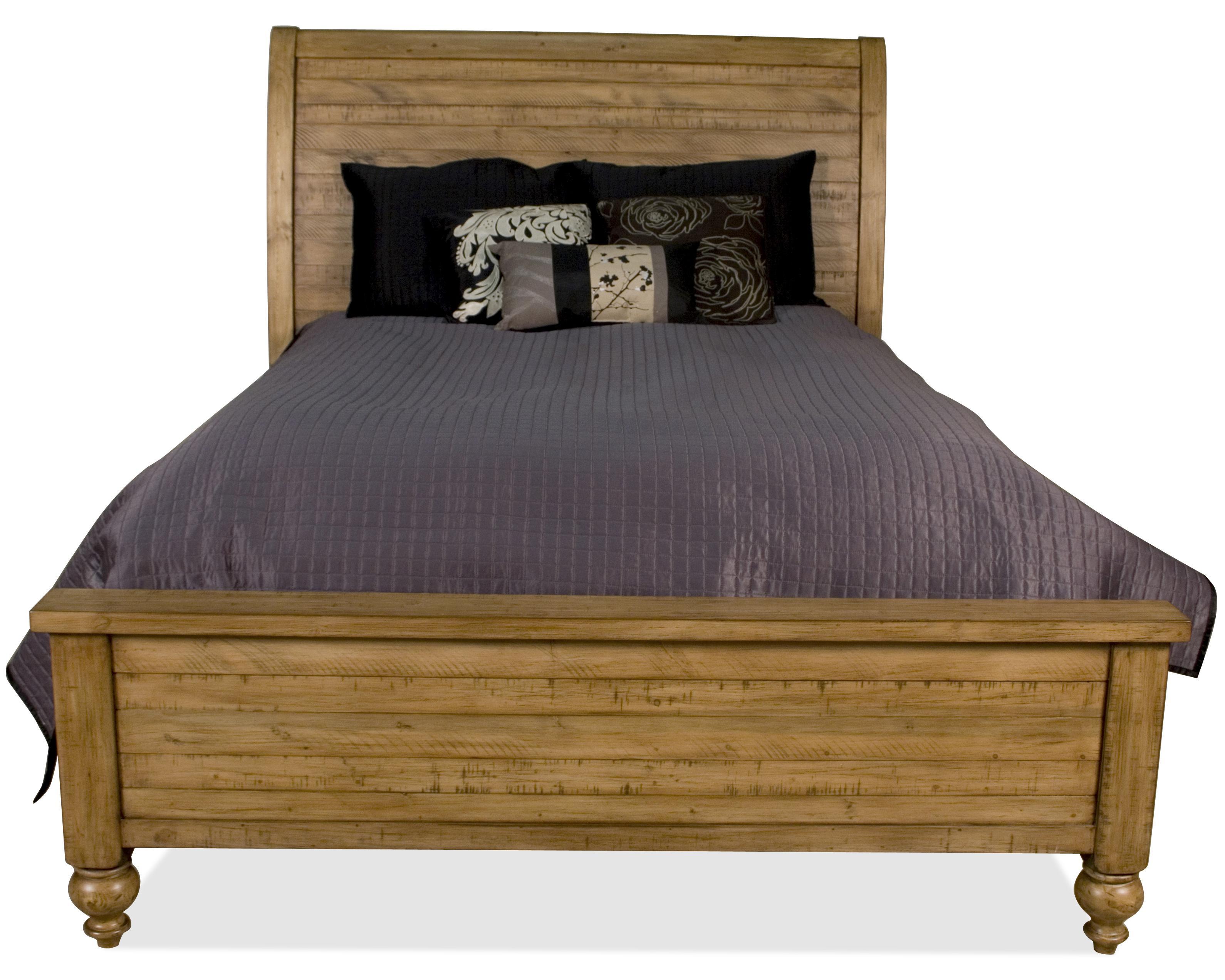 Riverside Furniture Summer Hill California King Panel Sleigh Bed   AHFA    Sleigh Bed Dealer Locator