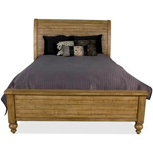 Riverside Furniture Summer Hill Queen Sleigh Bed