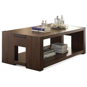Riverside Furniture Terra Vista Rectangular Coffee Table