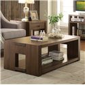 Riverside Furniture Terra Vista Modern Rectangular Coffee Table