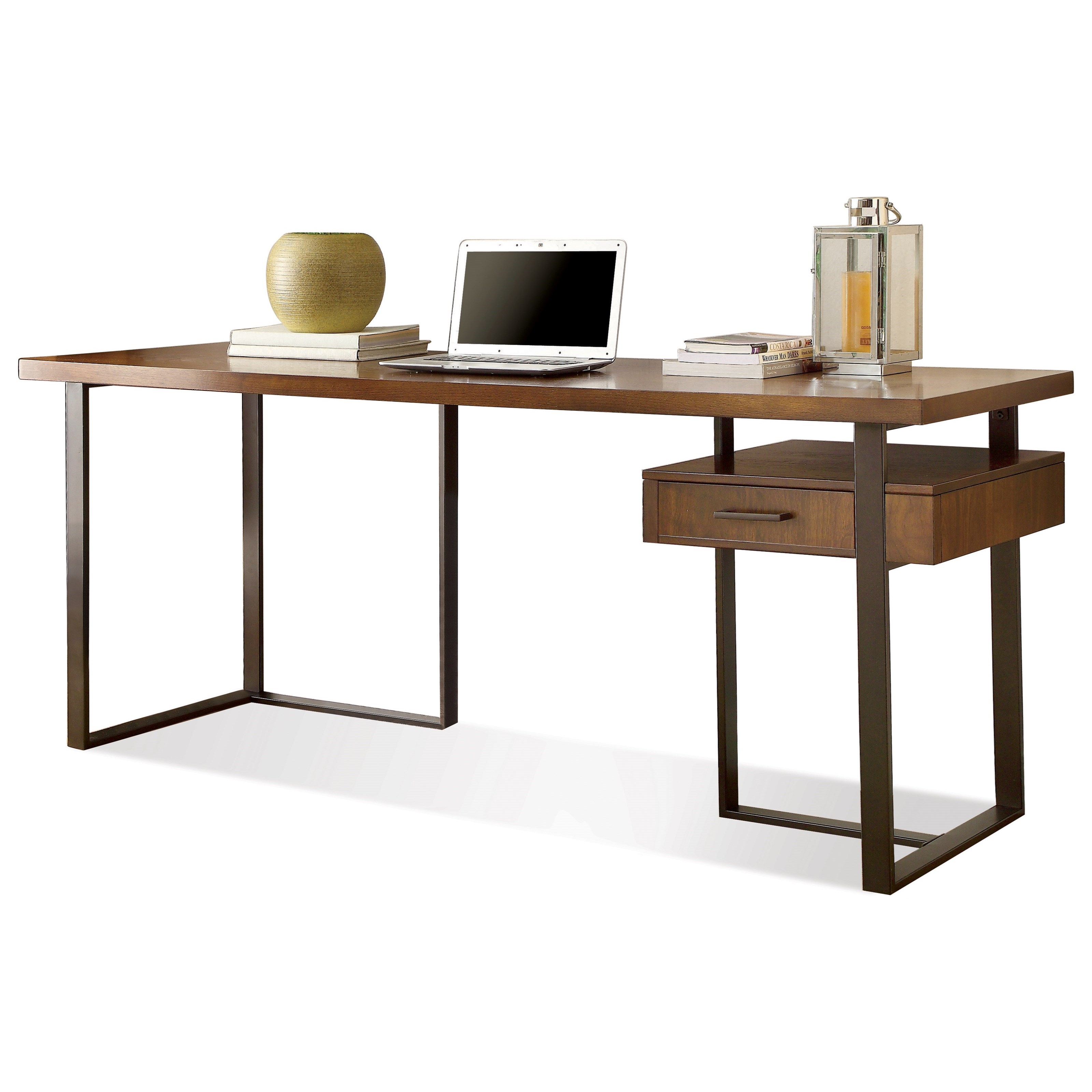 Riverside Furniture Terra Vista 1 Drawer Return Desk Ivan Smith Furniture Desk Return