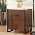 Riverside Furniture Terra Vista 2 Drawer File Cabinet