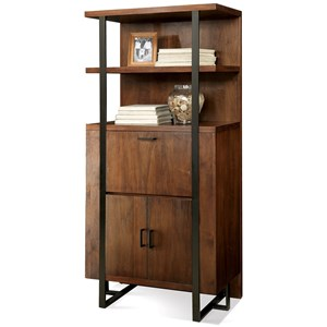 Riverside Furniture Terra Vista Secretary Bookcase