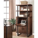 Riverside Furniture Terra Vista Secretary Bookcase with Center Drop-Lid