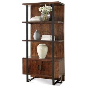 Riverside Furniture Terra Vista Bookcase Pier