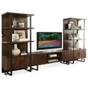 Riverside Furniture Terra Vista 3 Shelf Bookcase Pier