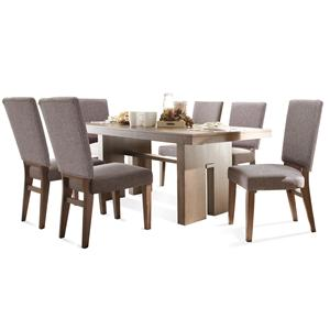 Riverside Furniture Terra Vista 7 PC Table & Chair Set