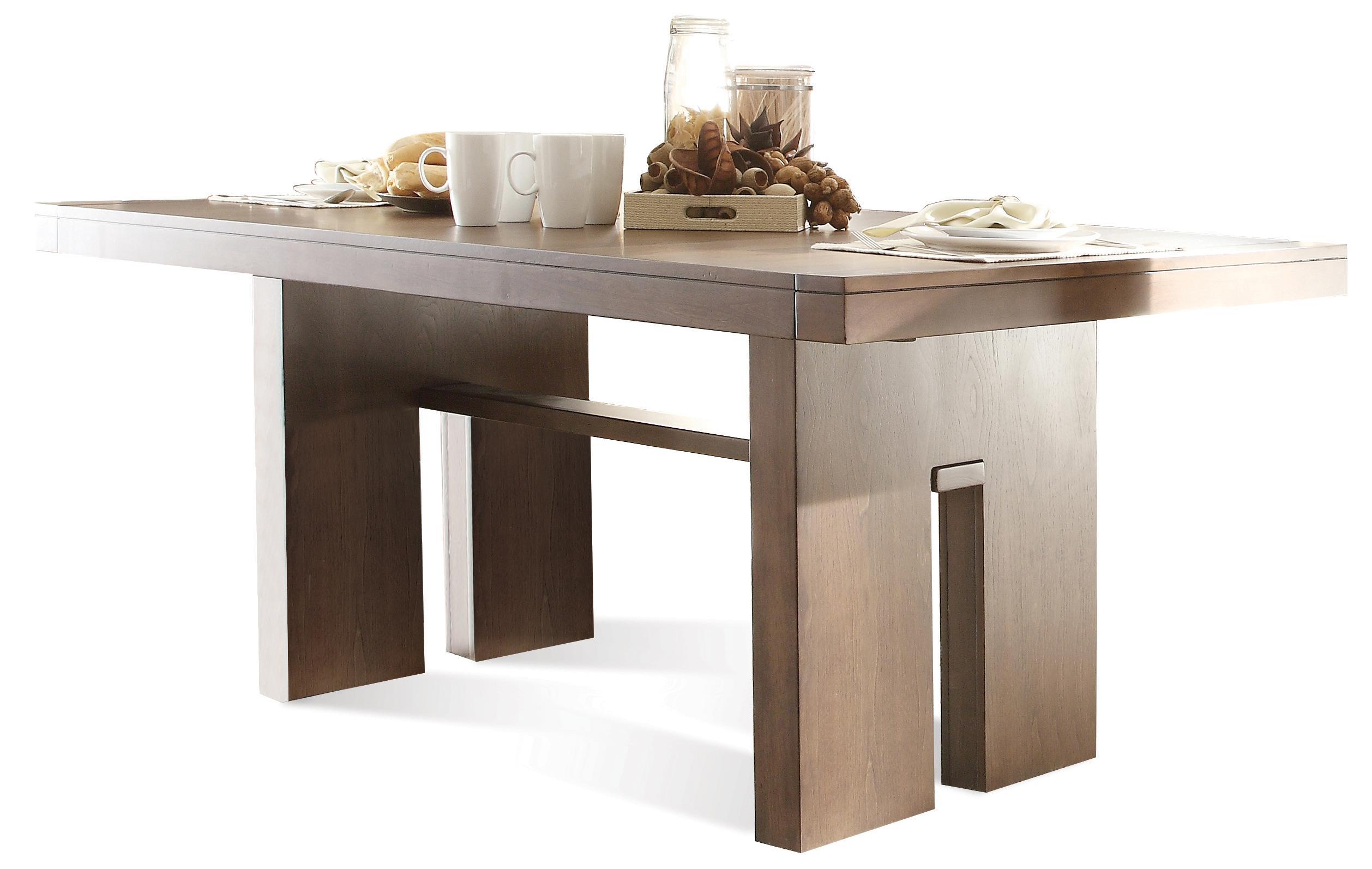 Riverside Furniture Terra Vista Dining Table   Item Number: 98850+51