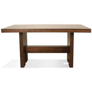 Riverside Furniture Terra Vista Gathering Height Dining Table