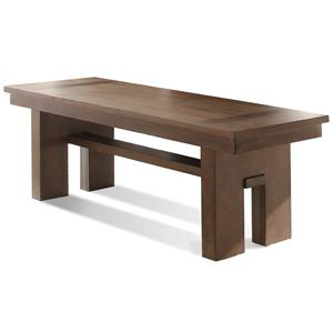 Riverside Furniture Terra Vista Bench