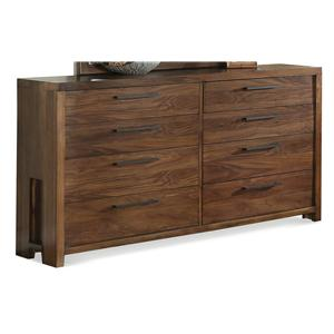 Riverside Furniture Terra Vista Eight Drawer Dresser