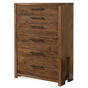 Riverside Furniture Terra Vista Six Drawer Chest