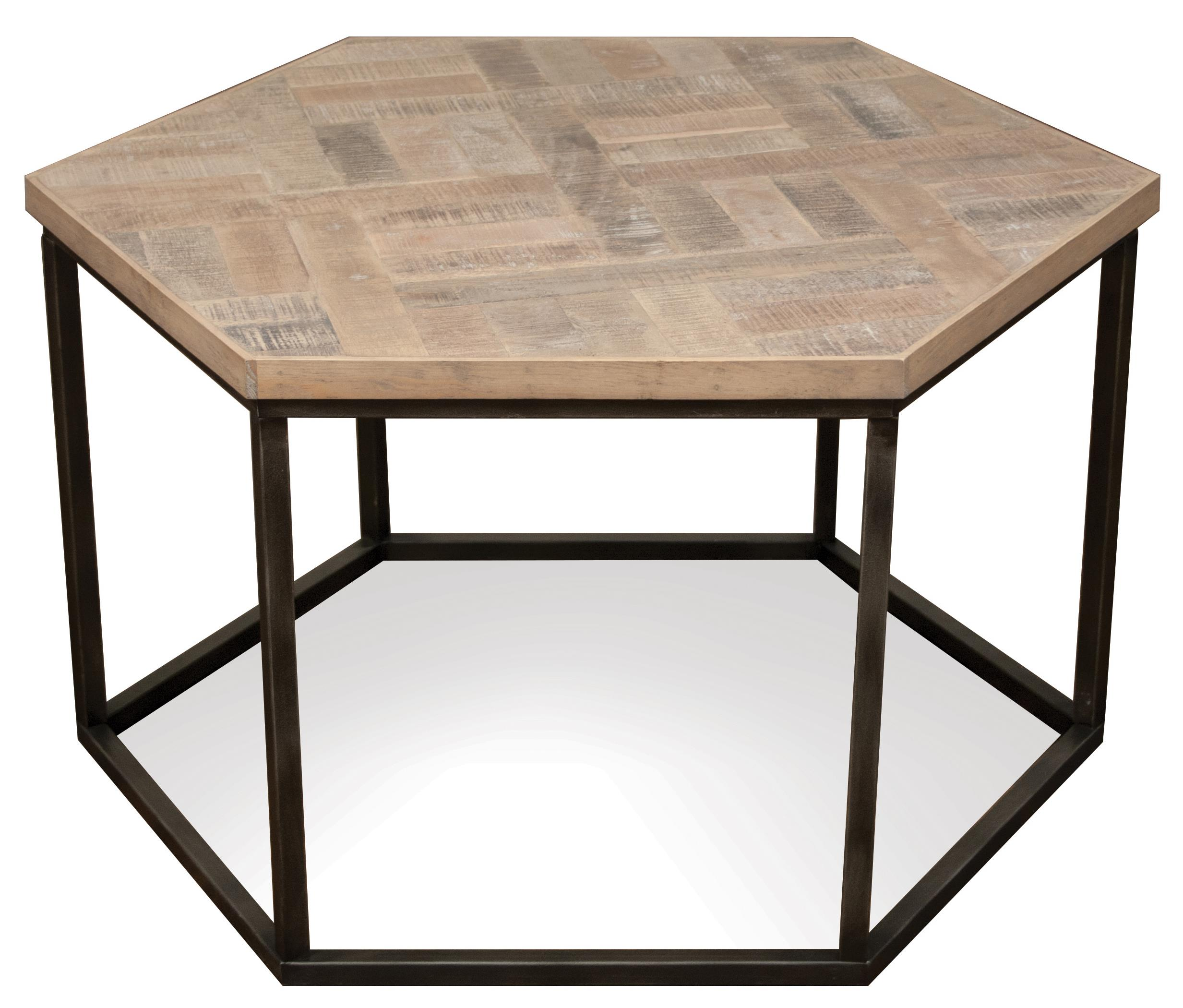 Riverside Furniture Thornhill Hexagon Coffee Table Item Number 18301