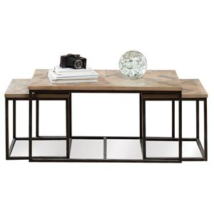Riverside Furniture Thornhill Nesting Cocktail Table