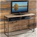 Riverside Furniture Thornhill Reclaimed Wood Console Table w/ Shelf