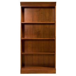 Riverside Furniture American Crossings 60 Inch Bookcase