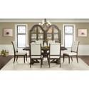 Riverside Furniture Verona Formal Dining Room Group - Item Number: 2490 Dining Room Group 2