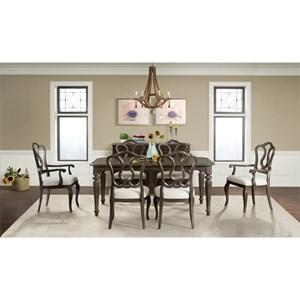 Riverside Furniture Verona Formal Dining Room Group