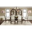 Riverside Furniture Verona Formal Dining Room Group - Item Number: 2490 Dining Room Group 4