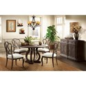Riverside Furniture Verona Casual Dining Room Group - Item Number: 2490 Dining Room Group 5