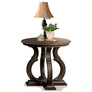 Riverside Furniture Verona Round End Table