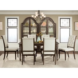 Riverside Furniture Verona 7 Piece Table and Chair Set