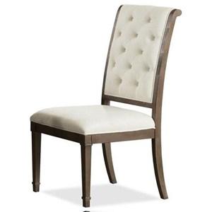 Riverside Furniture Verona Upholstered Back Side Chair
