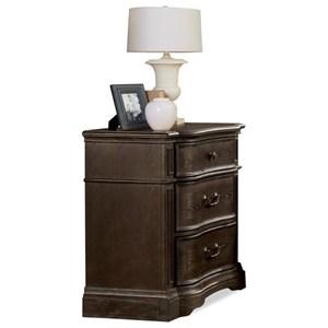 Riverside Furniture Verona 3-Drawer Nightstand