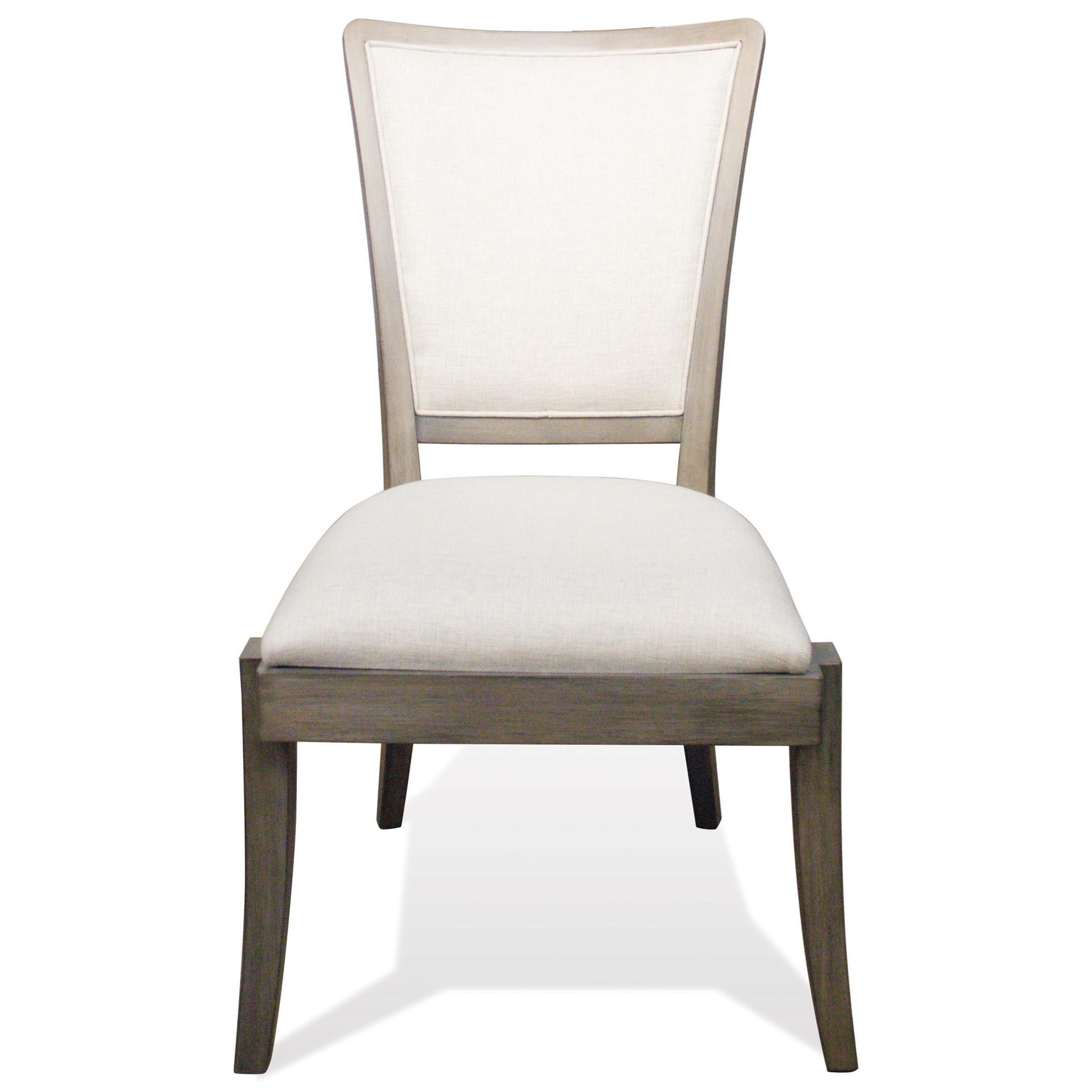 Riverside Furniture Vogue Solid Wood Upholstered Side Chair Collection