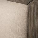 Riverside Furniture Vogue King Upholstered Bed in Gray Wash Finish