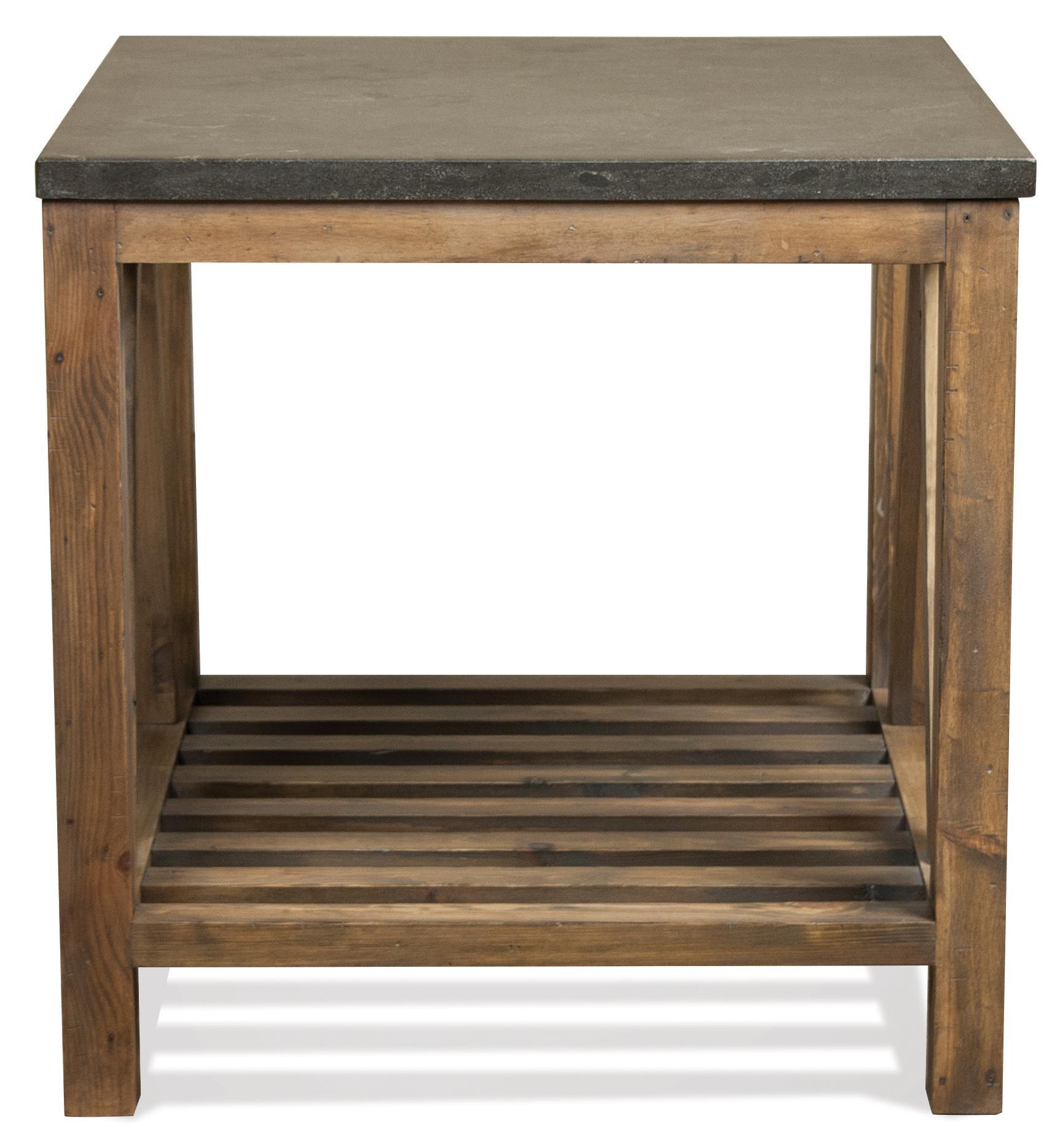 Riverside Furniture Weatherford Rectangular End Table   Item Number:  16509+10