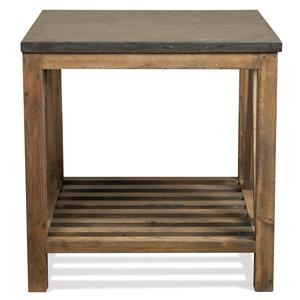 Riverside Furniture Weatherford Rectangular End Table
