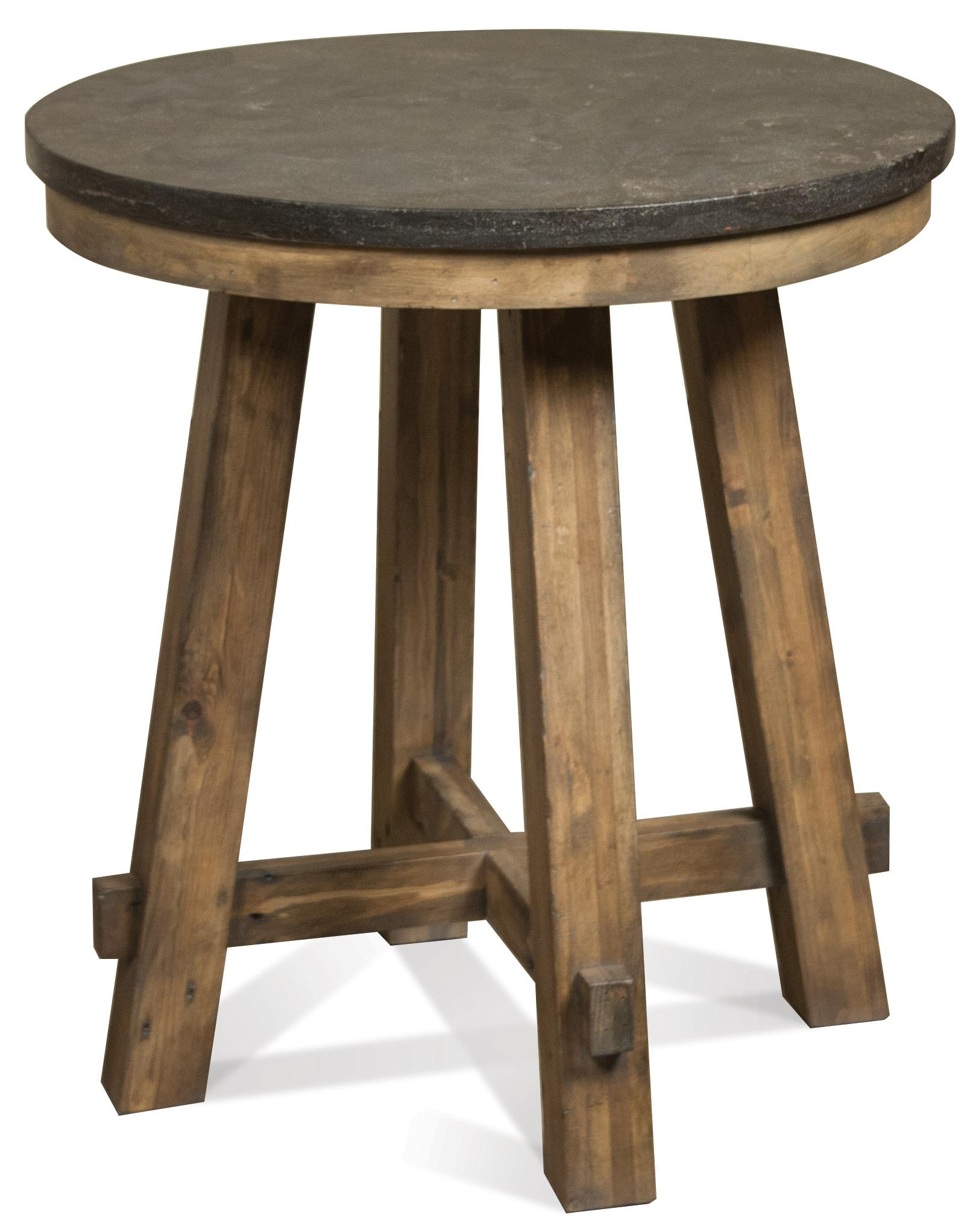 Riverside Furniture Weatherford Round End Table - Item Number: 16511+12
