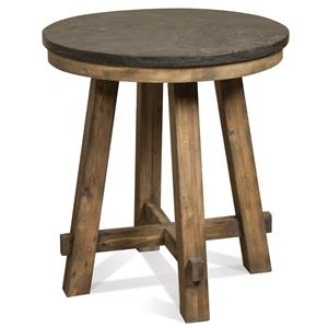 Riverside Furniture Weatherford Round End Table