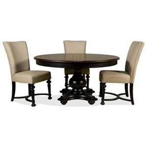 Riverside Furniture Williamsport 4 Piece Table & Chair Set
