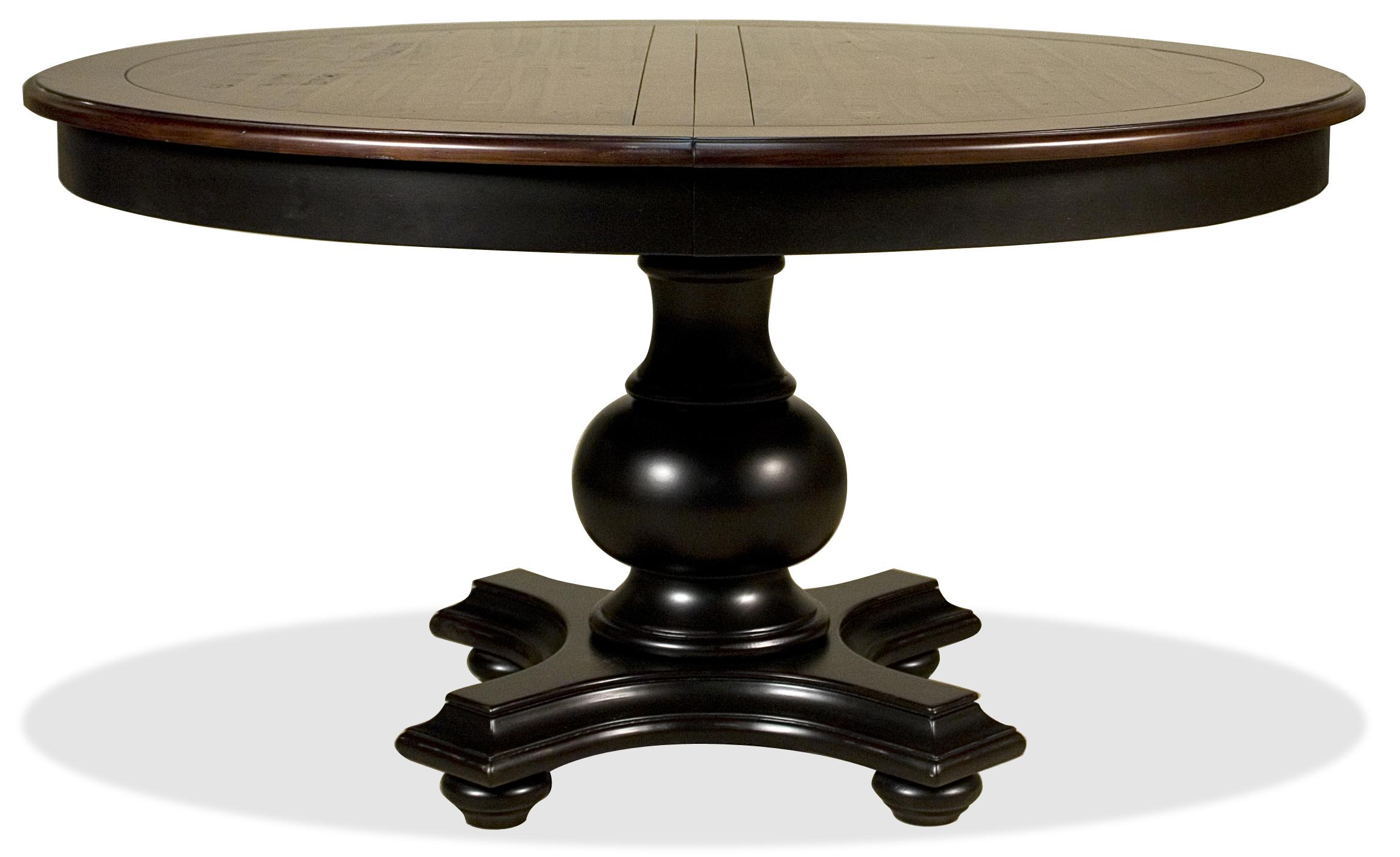 Riverside Furniture Williamsport Round Dining Table   AHFA   Dining Room  Table Dealer Locator