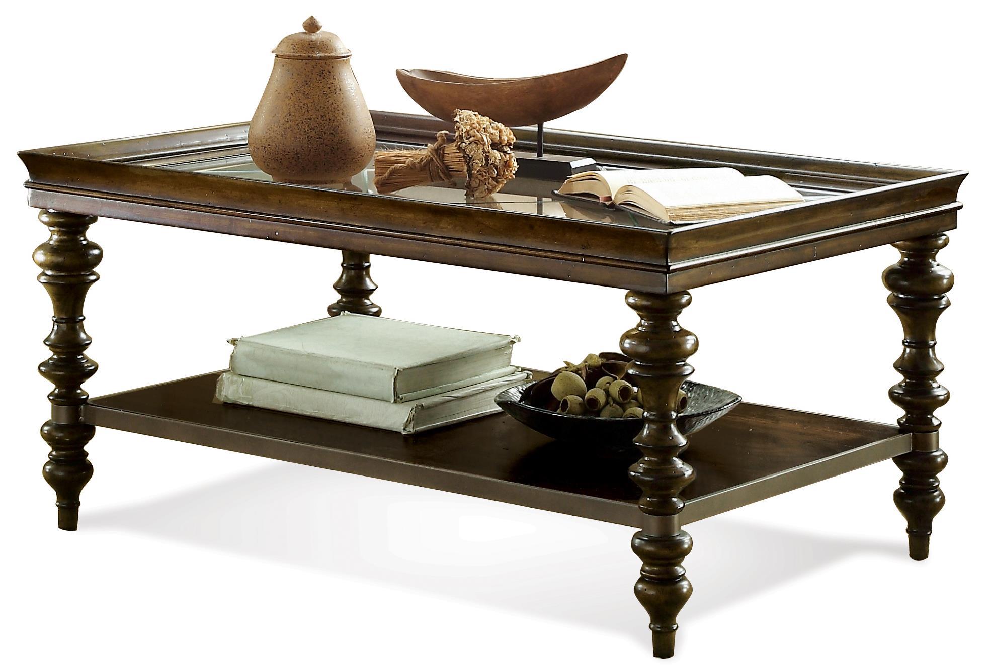 Riverside Furniture Windermier Rectangular Coffee Table   Item Number: 19802
