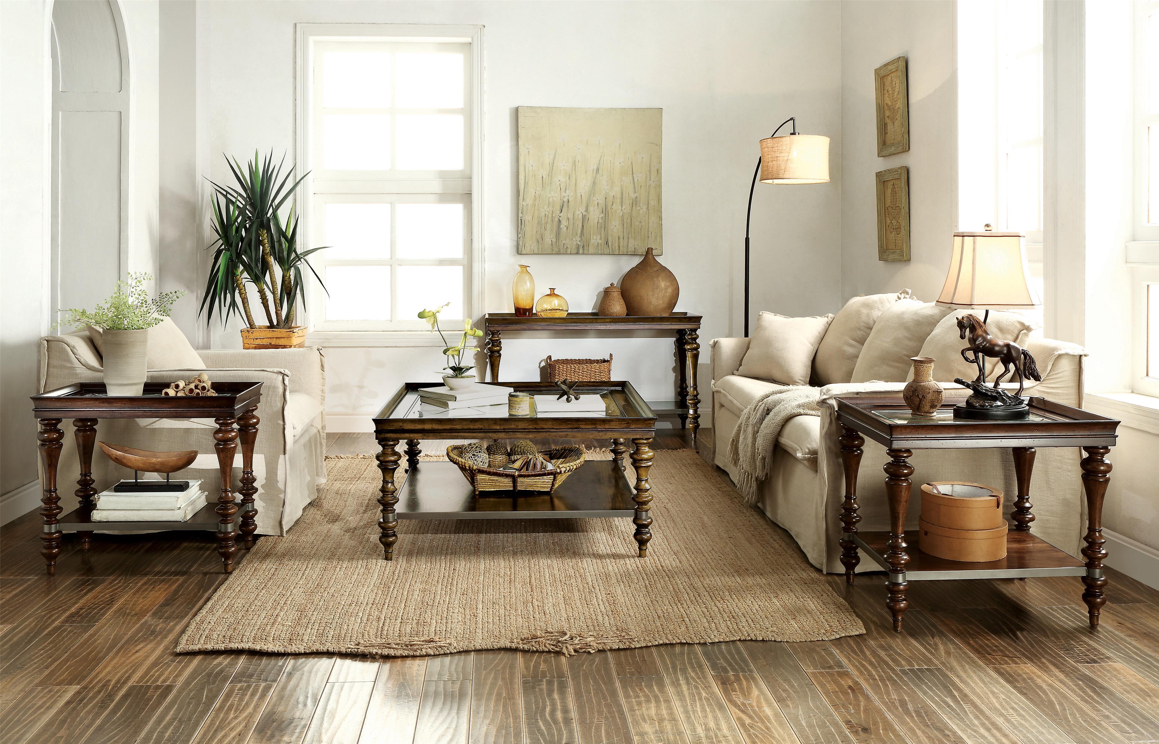 Riverside Furniture Windermier Turned Leg Side Table Hudson 39 S Furniture End Tables