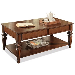 Riverside Furniture Windward Bay Rectangular Coffee Table