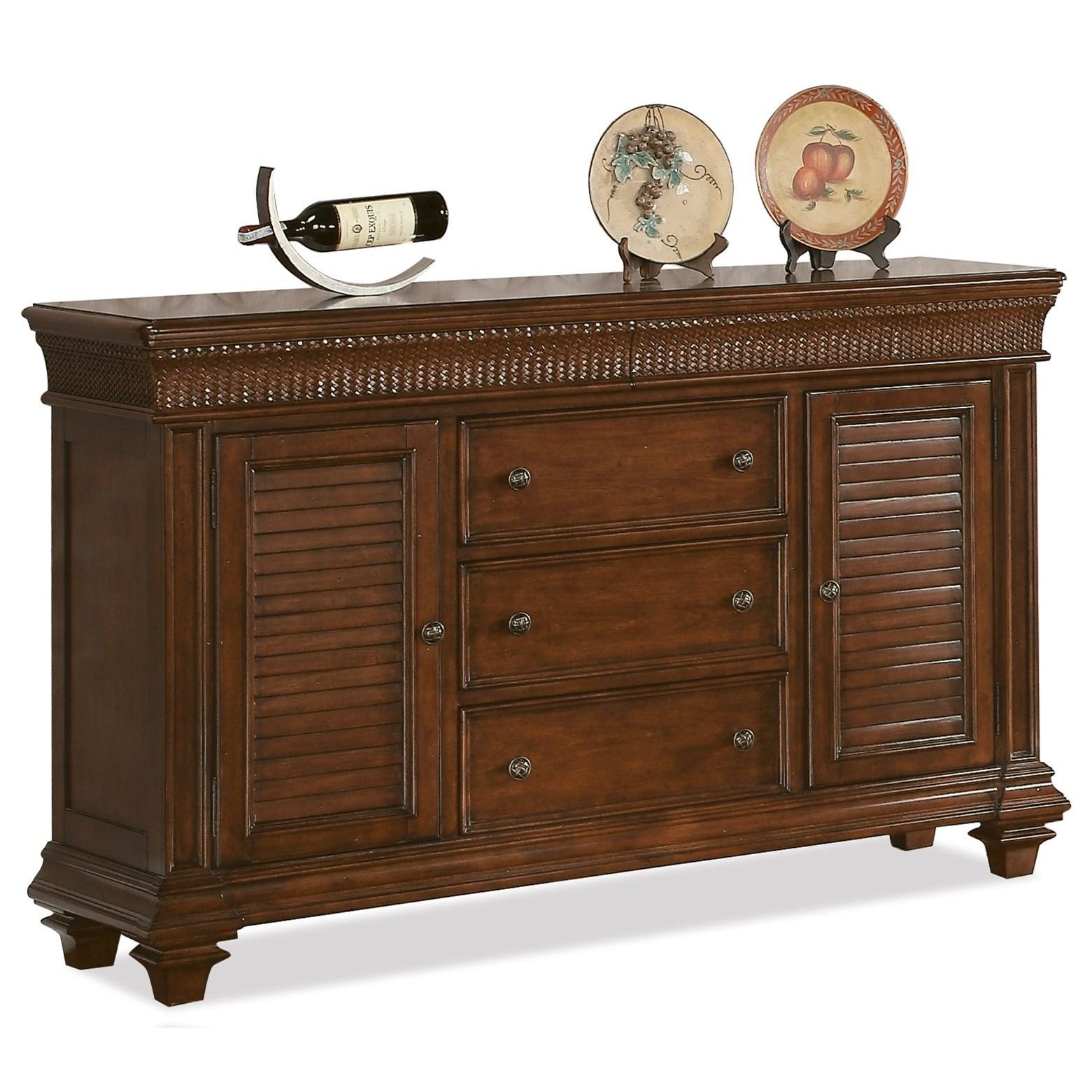 Riverside Furniture Windward Bay Server - Item Number: 42856