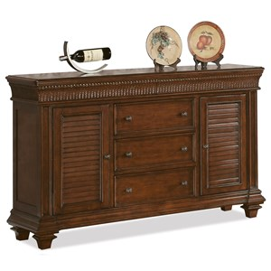Riverside Furniture Windward Bay Server