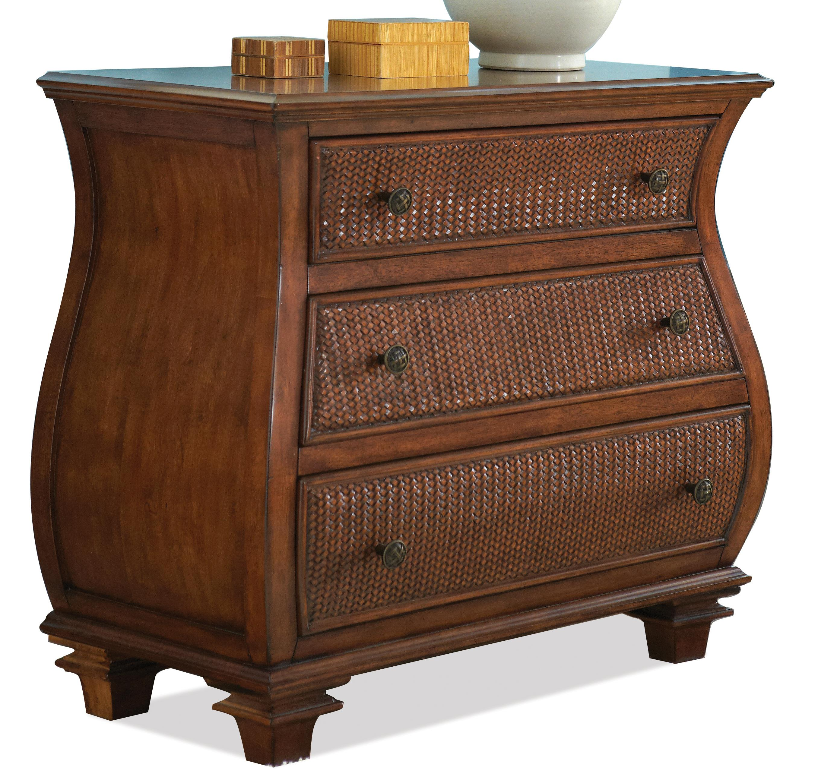Riverside Furniture Windward Bay Bombe Chest  - Item Number: 42866
