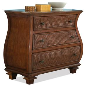 Riverside Furniture Windward Bay Bombe Chest