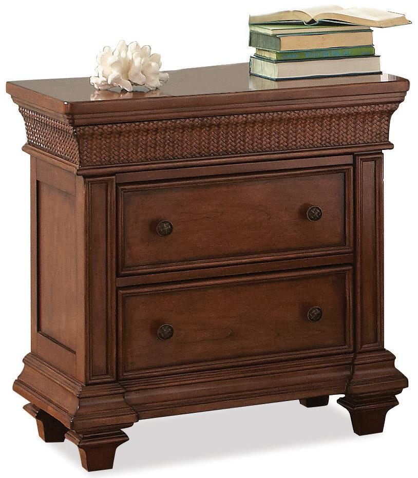 Riverside Furniture Windward Bay 2-Drawer Nightstand  - Item Number: 42869
